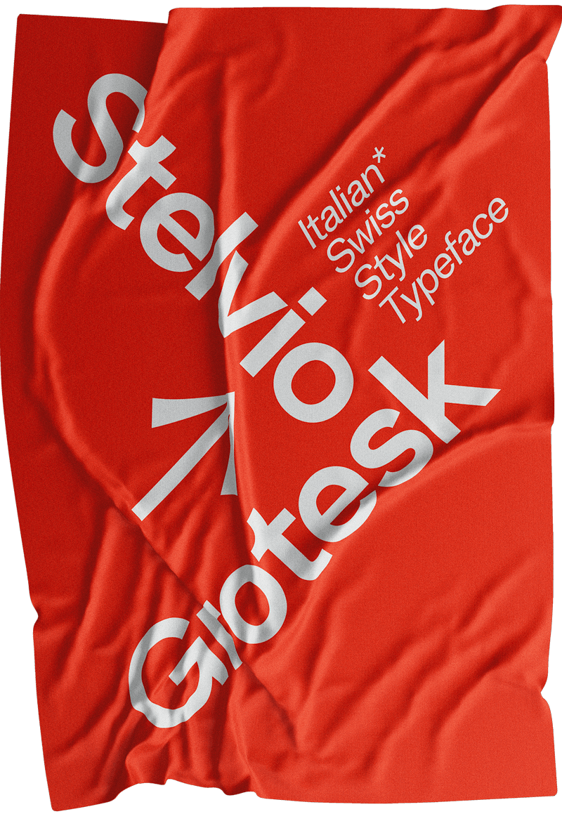 Stelvio Grotesk Posters Collection