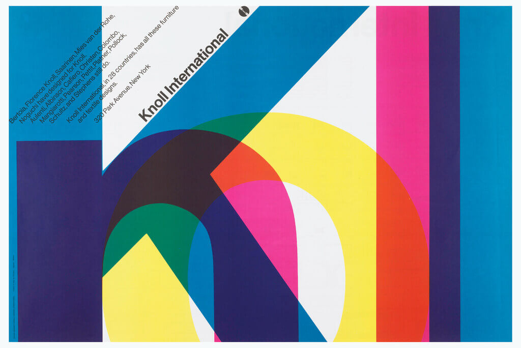 Knoll Corporate Identity - Massimo Vignelli - 1966